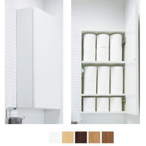 おトイレのデッドスペースを有効利用 LIXIL・INAX サイドミドルキャビネット TSF-106U|suisuimart