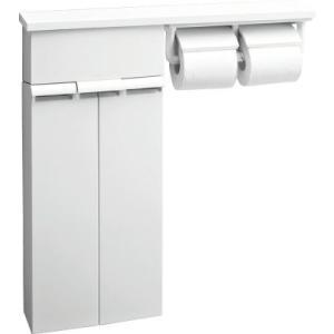 送料無料 小物も置けます。 LIXIL・INAX 壁付収納棚(紙巻器付) TSF-110WU/WA (樹脂製棚)|suisuimart