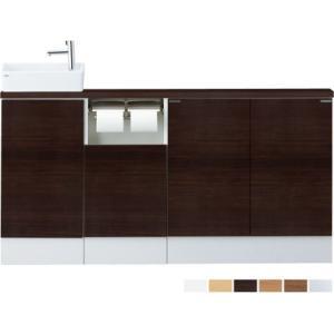 LIXIL・INAX 収納付トイレ手洗器 キャパシア フルキャビネットプラン YN-AKLEAEKXHEX|suisuimart