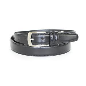 ベルト 革 黒 牛革 ベルト レギュラーサイズ 31081-140|suit-depot