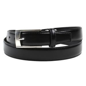 ベルト 革 黒 牛革 ベルト レギュラーサイズ 31081-167|suit-depot