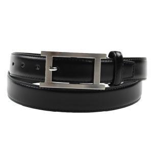 ベルト 革 黒 牛革 ベルト レギュラーサイズ 31081-169|suit-depot