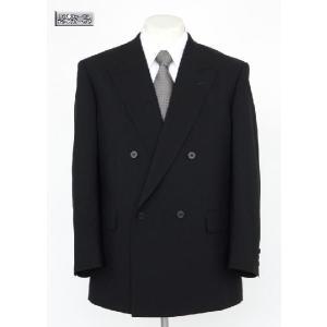 礼服 男性 フォーマル ダブル ブラック フォーマルスーツ ノーベント ワンタックスラックス アジャスター付き 夏物 320|suit-depot