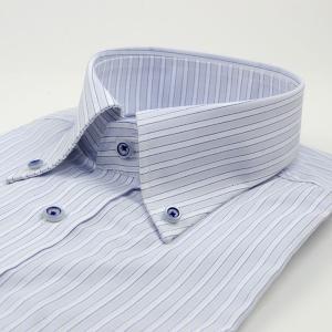 ワイシャツ 半袖 形態安定 スリムシルエット 39Y125-27|suit-depot