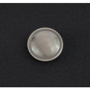 スリムジャケット用 メタル調 いぶし銀色 フラット ボタン 取り替え|suit-depot