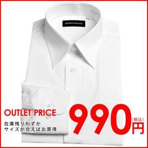 形状記憶(形態安定)加工の長袖ワイシャツシリーズ。 襟型はタイドアップがスマートにきまるスタンダード...