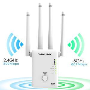 WAVLINK Wi-Fi 中継器 11ac/n/a/g/b 無線LAN 中継器 867+300Mb...