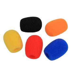 ヘッドセット インカム マイクスポンジ カラー 5色セットの商品画像|ナビ