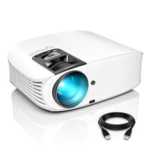 ELEPHAS プロジェクター LED 3600lm 1080PフルHD対応 1920×1080最大解像度 スピーカー2つ内蔵 USB×2/|suityuugekka
