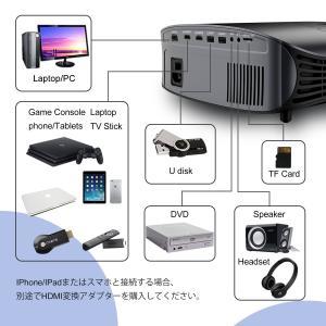 Artlii LEDプロジェクター 3500ルーメン 1280*800リアル解像度 1080Pフルhd対応 HIFI音質 AV/HDMIケー|suityuugekka