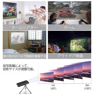AODIN モバイル DLP ミニ プロジェクター VRAM解像度WXGA 1280*800 wifi接続 HDMI入力 日本語モデル 30|suityuugekka