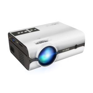 Mileagea LED プロジェクター 小型 2000 ルーメン 1080P フル HD 対応 台形補正 ホームシアター USB/SDカー suityuugekka
