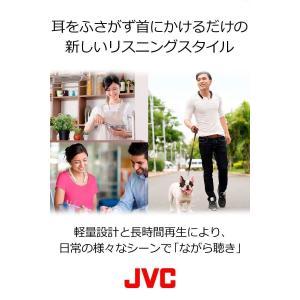 JVC NAGARAKU SP-A10BT ウェアラブルネックスピーカー ホワイト SP-A10BT-W suityuugekka