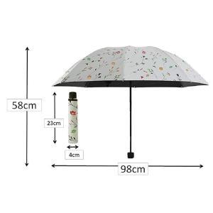 I BECOME FREE 日傘 レディース 手動式 折りたたみ式 軽量 遮光 UVカット 晴雨兼用|suityuugekka