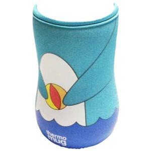 thermo mug(サーモマグ) アニマルボトル用交換カバーケース マリン(ドルフィン)