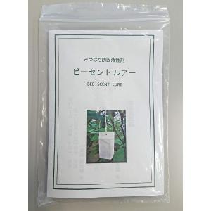 サンガーデン みつばち誘引活性剤 ビーセントルアー 3枚入り suityuugekka
