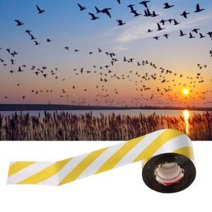 xuuyuu 鳥よけ 鳥忌避テープ 防鳥テープ 鳥忌避テープ 防鳥ホログラムテープ 鳥の忌避剤 反射性鳥リボン カラスよけ 鳥駆除 作物保護 suityuugekka