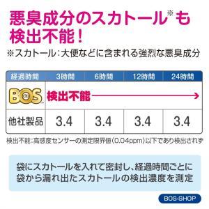 驚異の防臭袋 BOS (ボス) ストライプパッケージ/白色SSサイズ200枚入 赤ちゃん用 おむつ ...