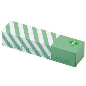 驚異の防臭袋 BOS (ボス) ストライプパッケージ/透明グリーンMサイズ90枚入 赤ちゃん用 おむ...