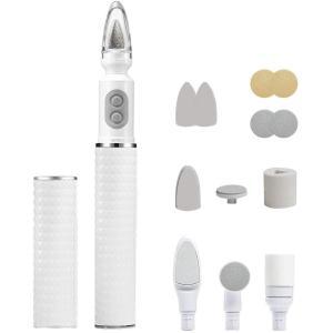 2019最新版電動ネイルケア ネイルケアセット 電動 爪やすり 爪切り 爪磨き ネイルシャイナー アタッチメントセット付属 USB充電式 2|suityuugekka