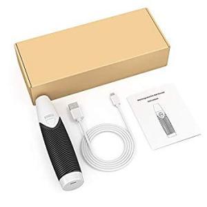 Dadypet 電動爪トリマー 電動爪切り 犬猫爪グラインダー 爪切り シリコンハンドル USB充電 静音設計安全 猫/小型犬/中型犬/大型|suityuugekka