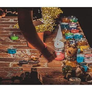HSFTILV スライム キット 水晶粘土 DIY材料 セット おもちゃ 手作りツール 金魚鉢ビーズ...