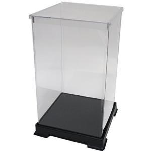 かしばこ商店 透明フィギュアケース 242440 プラスチック 組立式 W240×D240×H400...