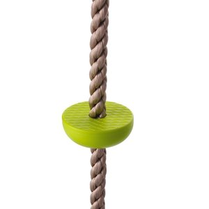 COMINGFIT? 五つノート 室内 外遊び アウトドア 登山 登り用練習 子供ノットロープ クライミングロープ (グリーン)