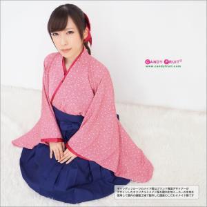 ハイカラロングメイド服(桜)【記念日に着て欲しい和風メイド服】|sukina-mono