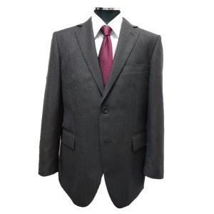20AWメンズチャコールグレーに近いこげ茶色 秋冬スーツ A,AB,BB体  2ボタン2タックゆったりシルエット sukipio