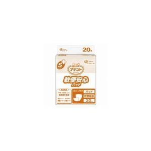アテント 介護用おむつ Sケア軟便安心パッド 20枚×4パック【ケース販売】|sukoyaka-shop