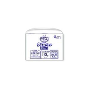 アテント 介護用おむつ うす型パンツ XLサイズ 16枚×4パック【ケース販売】|sukoyaka-shop