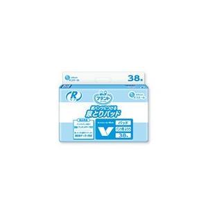 アテント 介護用おむつ Rケア紙パンツにつける尿とりパッド ふつうタイプ 38枚×8パック【ケース販売】|sukoyaka-shop