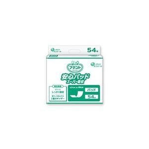 アテント 介護用おむつ 安心パッド スーパー吸収 54枚×6パック【ケース販売】|sukoyaka-shop