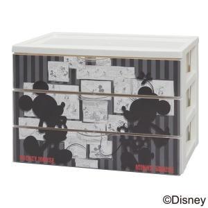 デスクチェスト ミッキー 卓上 CDC-A430A 完成品 チェスト引出し デスク 机 資料 整理 子供部屋(disney_y) sukusuku 02