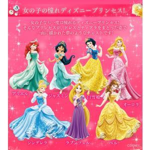 チェスト キッズ タンス こども 子供 収納 ディズニー プリンセス キッズチェスト 5段 CHG-555 アイリスオーヤマ 女の子 (disney_y)|sukusuku|02