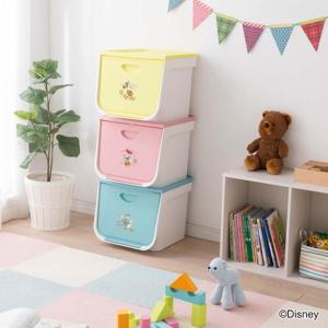 おもちゃ箱 おもちゃ 収納 おもちゃ収納 キッズ フラップボックス FLP-MK 3個セット アイリスオーヤマ ミッキー ミニー フタ付き 収納 (disney_y)|sukusuku|02