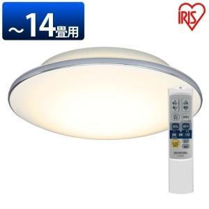 LEDシーリングライト 天井照明 シーリングライト LED メタルサーキットシリーズ モールフレーム 14畳調色 CL14DL-5.1M アイリスオーヤマ|sukusuku
