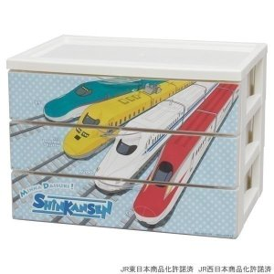 デスクチェスト JDC-A430 新幹線ASA アイリスオーヤマ チェスト 引出し デスク 机 資料 整理 子供部屋|sukusuku