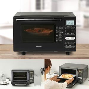 オーブンレンジ シンプル 18L フラットテーブル ピンクゴールド MO-F1801-WPG アイリスオーヤマ|sukusuku