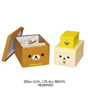 リラックマ収納ボックス 3サイズP 4060RK-3 キングジム|sukusuku
