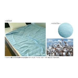 天然素材コットン100%ドビー織コットンタオルケット シングルサイズ CGDTK-14190|sukusuku|05