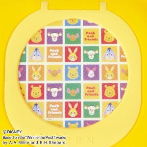 くまのプーさん 窓付きおもちゃ箱  イエロー ピップ (disney_y)  ディズニー 錦化成|sukusuku|02