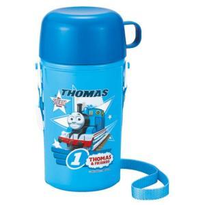 きかんしゃトーマス ショルダー冷水筒450ml(保冷タイプ)  SC-450 株式会社オーエスケー (D) お弁当グッズ 機関車 トーマス|sukusuku