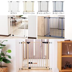 ベビーゲート とおせんぼ 階段 階段下 赤ちゃん 柵 おしゃれ 白 ホワイト ペットゲート フェンス 拡張フレーム スチール 突っ張り つっぱり 子供|sukusuku|02
