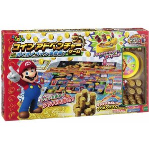 スーパーマリオ コインアドベンチャーゲーム ざくざくコイン争奪戦 エポック (TC) sukusuku