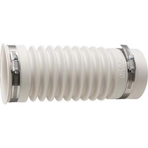 排水フレキ接手 アイボリー H6430-75X450 SAN-EI (D)|sukusuku