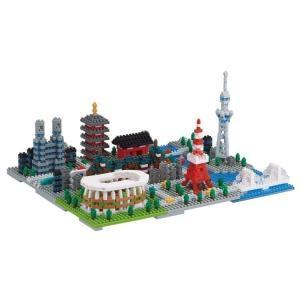 おもちゃ 玩具 ブロック ホビー 趣味 ミニチュア ナノブロック 東京 NB-040 カワダ (TC...