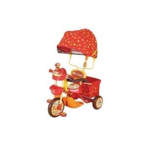 三輪車 2歳 3歳 4歳 手押し棒付き アンパンマン 乗り物 玩具 おもちゃ 乗用玩具 子供 サンシ...