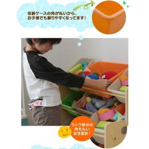 おもちゃ 収納 おもちゃ収納 おもちゃ箱 子供 収納 おしゃれ ラック トイハウスラック 4段 THR-4CA トイラック 子供部屋収納 (タイムセール!)(セール)|sukusuku|04